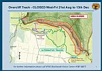 Overcliff Track Closure - Wed - Fri only - Blue Mountains National Park
