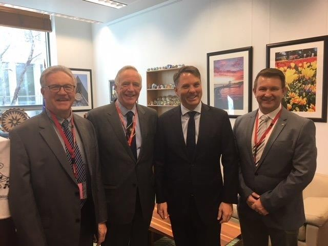 Councillors Take Opportunity to Discuss Lithgow Potential with Shadow Minister for Defense