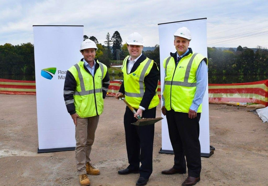 Major Work Starts on Nepean River Pedestrian and Cyclist Bridge