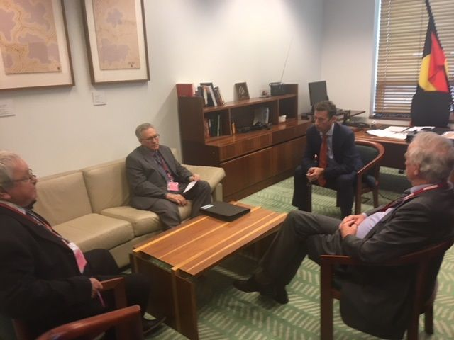 Council meets Minister and Shadow Minister for Regional Development and Local Government in Canberra