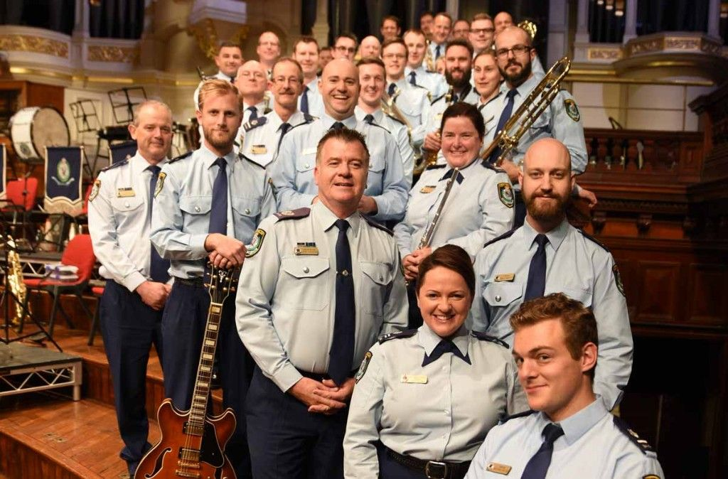 Marching to the Beat of Their Drum - the NSW Police Band