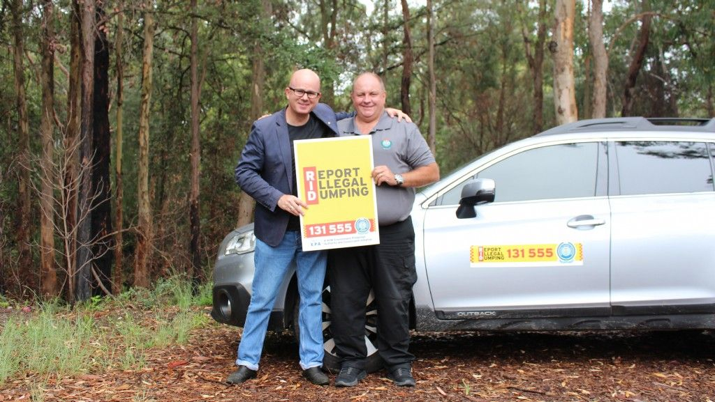 Let's Rid the Blue Mountains of Illegal Dumping
