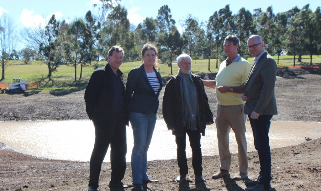 Council Completes New Emergency Water Source For Bushfire Season