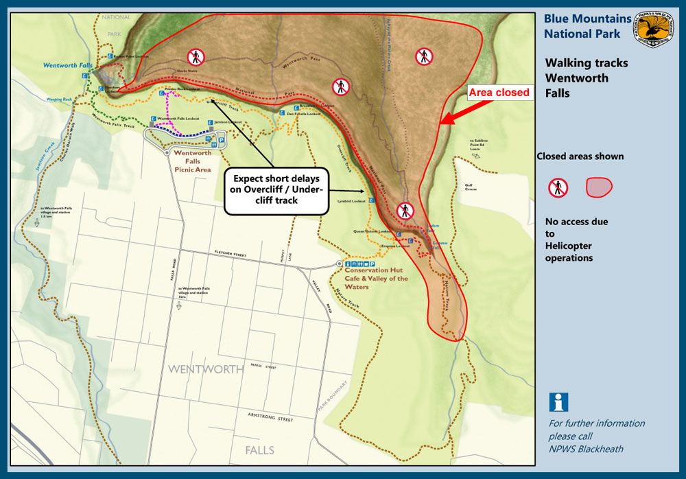 Temporary Closure - Empress Canyon and Surrounding Walking Tracks - Thursday 21st March 2019