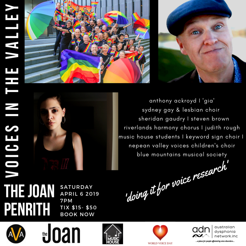 Sydney Gay & Lesbian Choir Does The Joan - Charity Event
