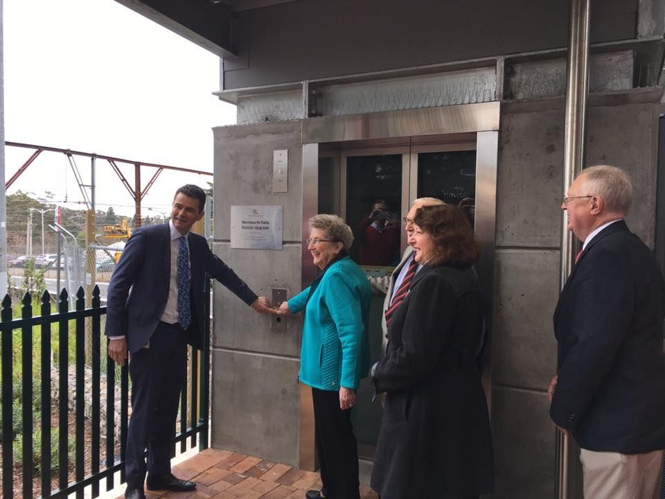 Lifts Open at Wentworth Falls Station