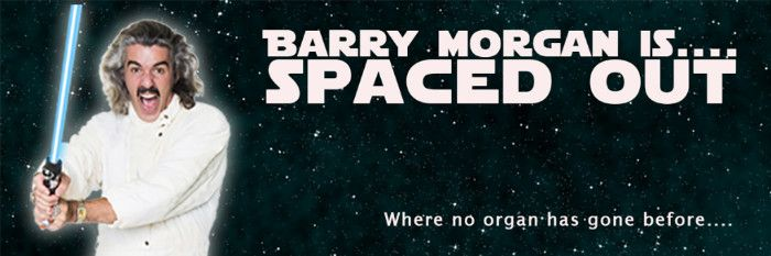 Barry Morgan is… Spaced Out... at The Hub, Springwood