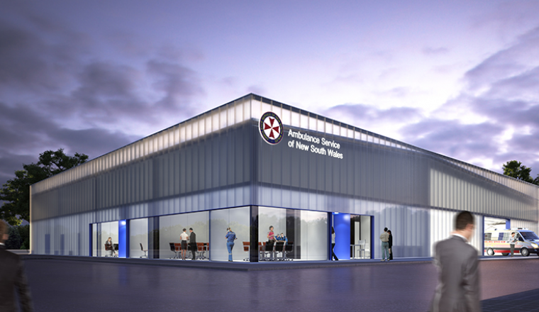 Planning Approval For Penrith S New Ambulance Superstation