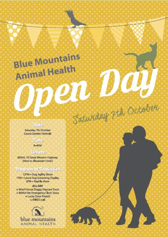 Blue Mountains Animal Health Open Day