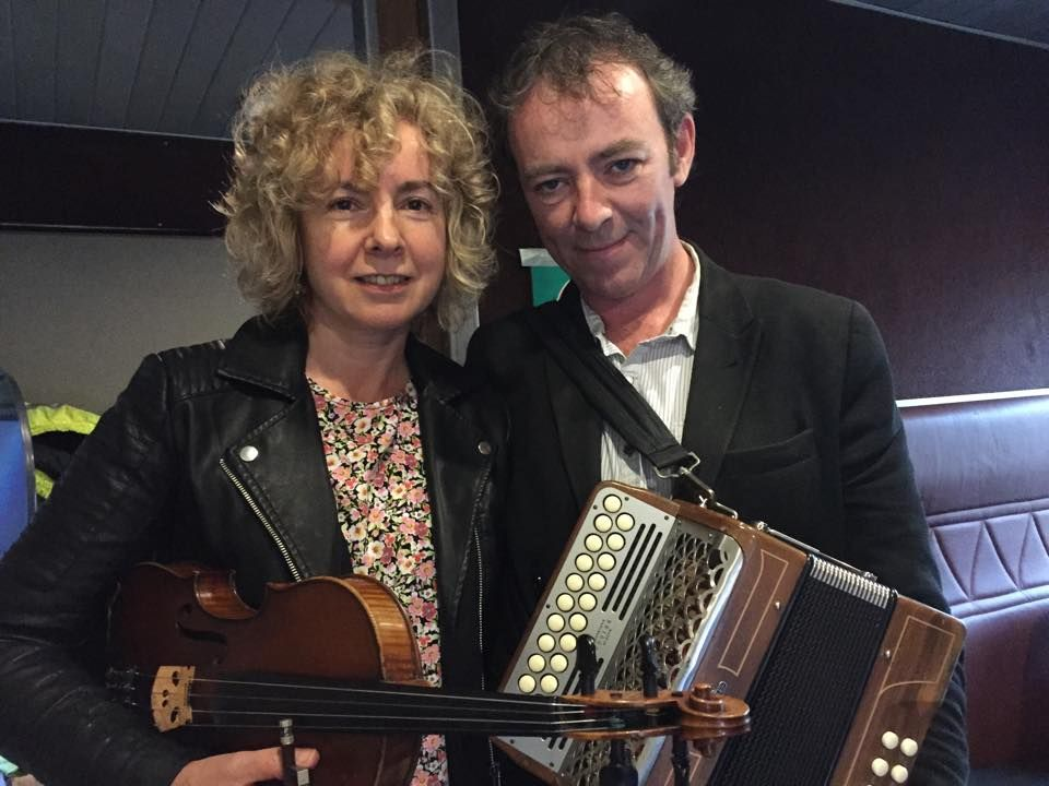 Traditional Irish Music Concert Featuring Brid Harper & Dermot Byrne  + Special Guests Witches Leap