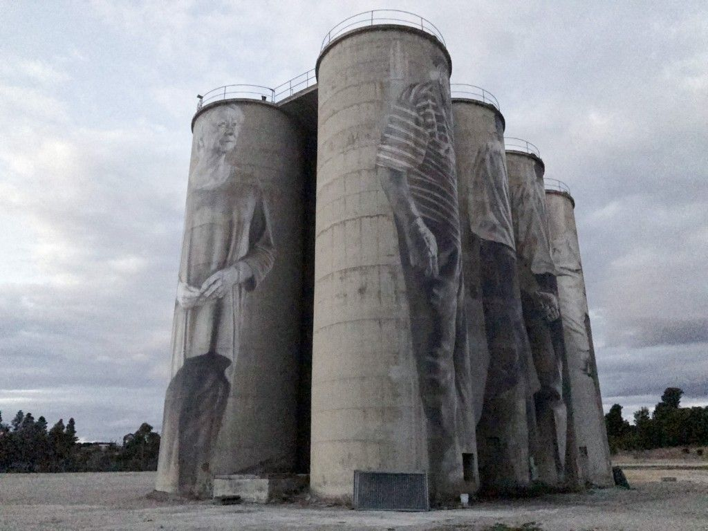 Portland's Silo Artwork Completed