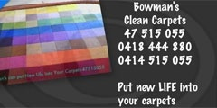 Bowman's Clean Carpets