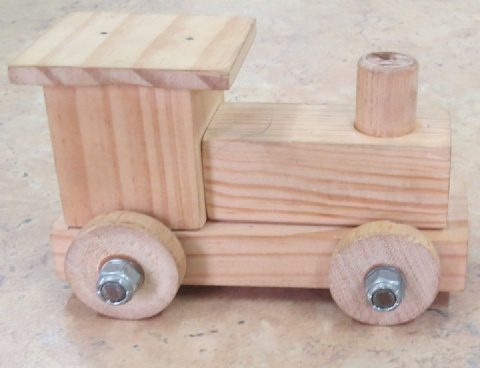 WOODEN TOY LOCO KIT