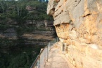 National Pass at Wentworth Falls