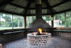 Outdoor Fire Pit ideal for toasting marshmallows