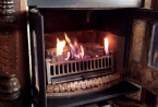 Relax by our open gas fireplaces