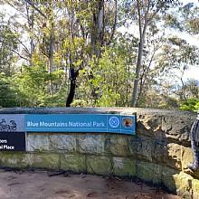 Blue Mountains National Park Katoomba