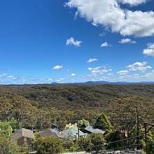 View from Bullaburra railway station