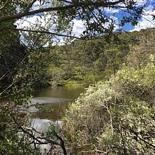 Clarence Dam - top dam