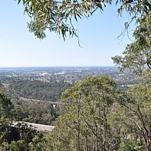 Views over Emu Plains