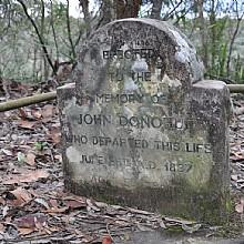 John Donohoe's Grave