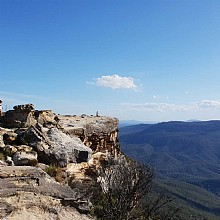 Wentworth Falls Views Lincoln Rock
