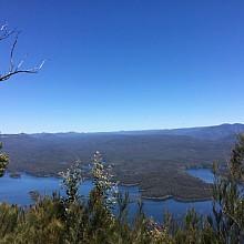 View over Lake Burragarong