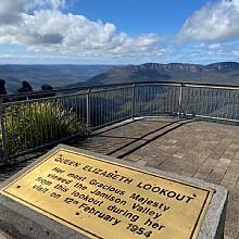 Queen Elizabeth Lookout Echo Point
