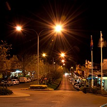 Leura Mall by Night
