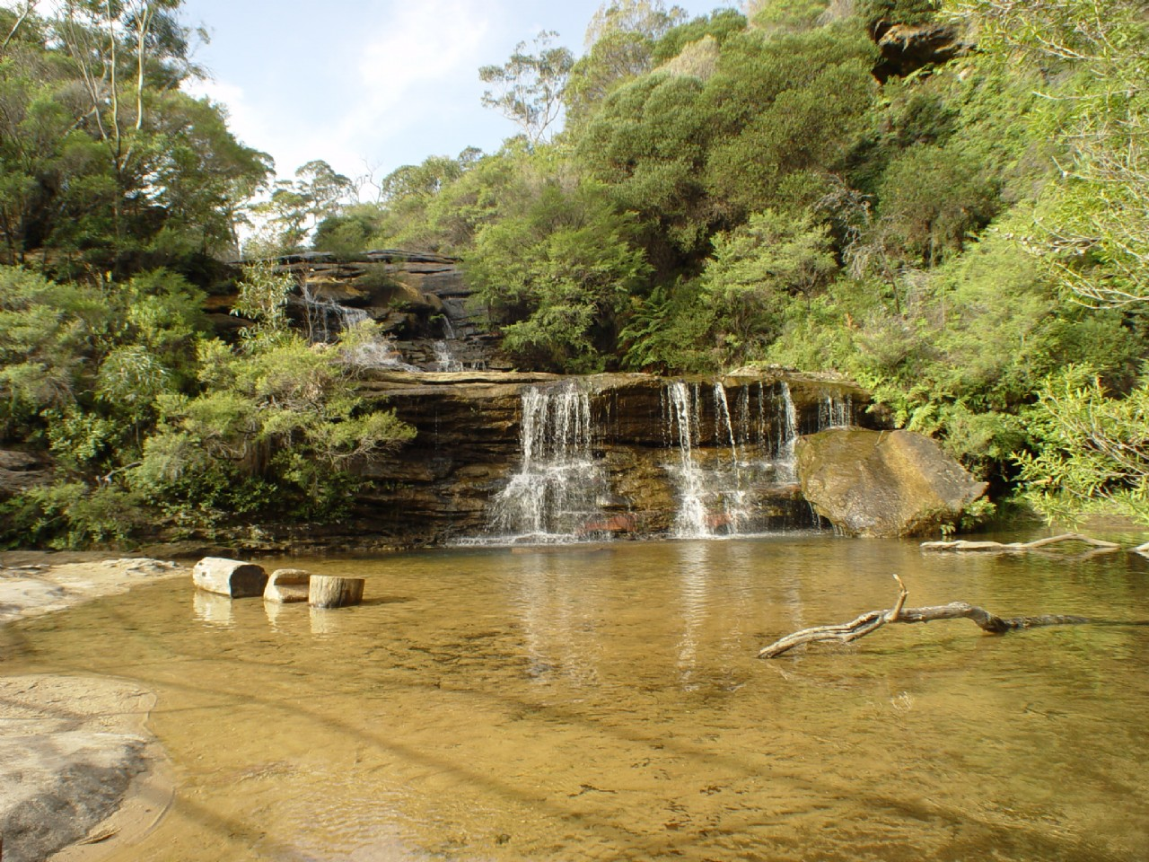 Wentworth Falls Blue Mountains Australia