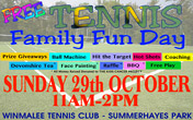 Free Tennis Family Fun Day