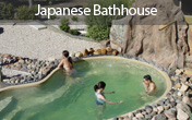 A unique Japanese bath house
