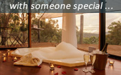 Romantic retreat with room service